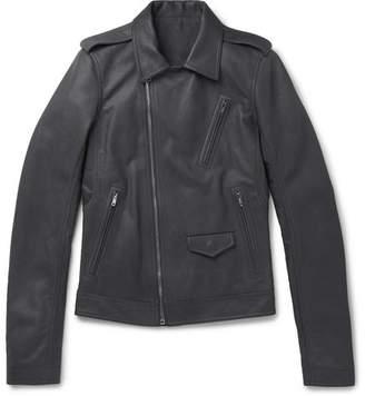Rick Owens Stooges Leather Biker Jacket