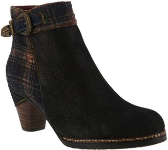 Spring Step L'Artiste by Leather/Textile AnkleBoots - Scottal