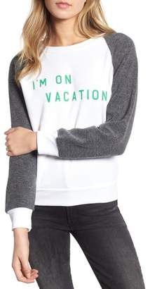 Wildfox Couture I'm on Vacation Pullover