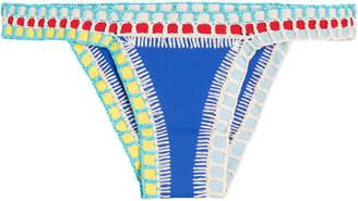 Kiini Tuesday Crochet Trimmed Bikini Bottoms