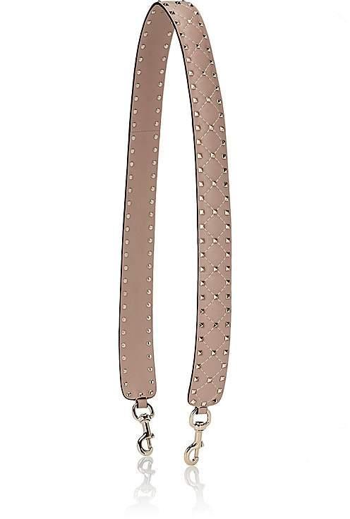 Valentino Garavani Women's Rockstud Leather Shoulder Strap