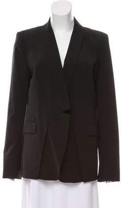 Halston Structured Virgin Wool Blazer