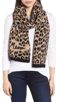 Kate Spade Leopard Muffler