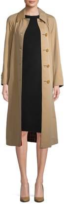 Burberry Women's Wool Car Coat