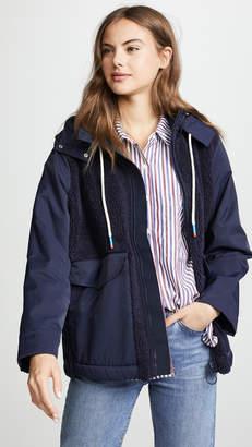 Tory Sport Sherpa Hooded Jacket
