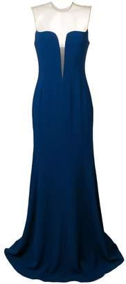 Stella McCartney sheer panelled long gown