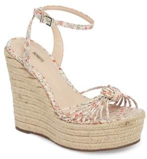 Schutz Gianne Platform Wedge Sandal