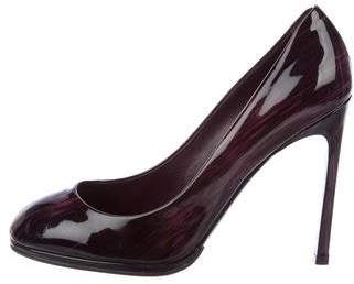 Saint Laurent Patent Leather High-Heel Pumps