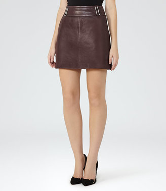 Vale Leather Skirt $465 thestylecure.com