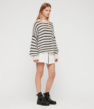AllSaints Renne Stripe Sweater