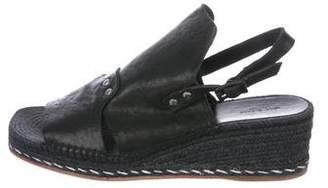Rag & Bone Slingback Wedge Sandals