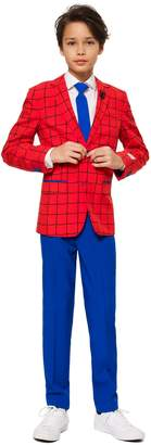 Spiderman OppoSuits TM) Two-Piece Suit with Tie