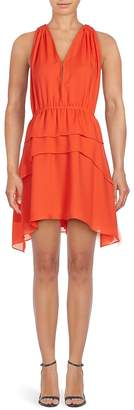Derek Lam 10 Crosby Women's Silk V-Neck Dress