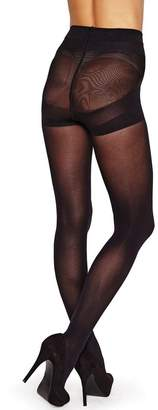 Charnos Hosiery New Killer Figure Opaque Control Tights-XL
