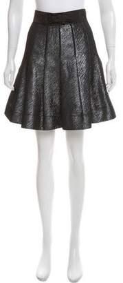 Zac Posen Z Spoke by High-Rise Flared Skirt
