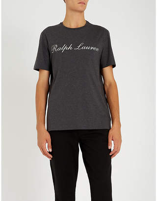 Ralph Lauren Purple Label Logo-printed cotton-jersey T-shirt