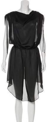 Alexander Wang Sheer Midi Dress