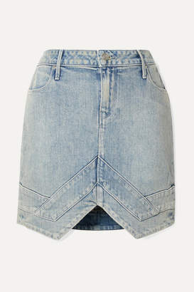 RtA Tempest Denim Mini Skirt - Blue