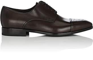 Salvatore Ferragamo Men's Cairo Leather Bluchers
