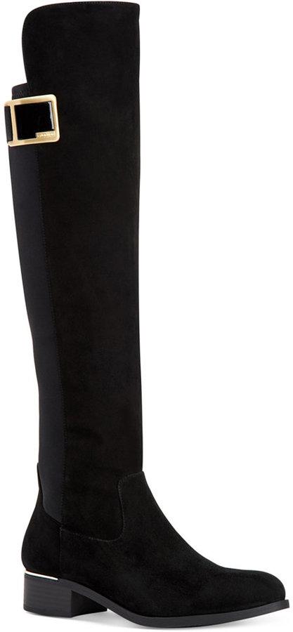 Calvin KleinCalvin Klein Women's Cyra Over-The-Knee Boots