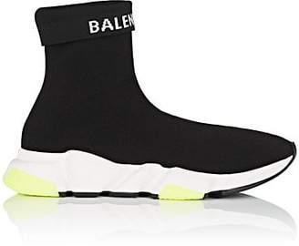 Balenciaga Men's Speed Knit Sneakers - Black