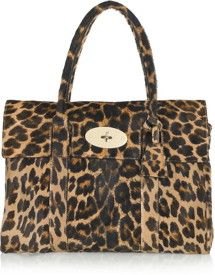 Mulberry Bayswater calf hair bag