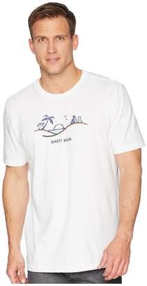 Life is Good Happy Hour Vista Crusher Tee Men's T Shirt