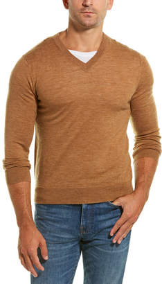 Qi V-Neck Wool Sweater