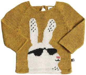 Oeuf Bunny Baby Alpaca Knit Sweater