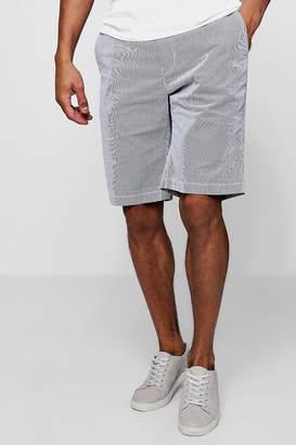 boohoo Stripe Slim Fit Cotton Short