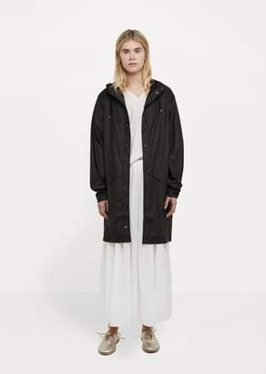 Rains Long Waterproof Jacket Black