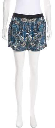 Helmut Lang Printed Mini Shorts