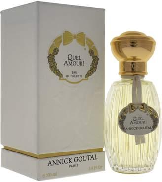 Annick Goutal Quel Amour by for Women Eau De toilette Spray, 3.3-Ounce