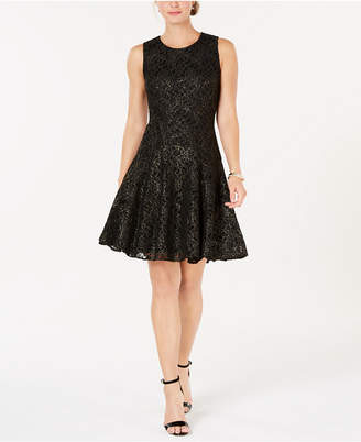 Tommy Hilfiger Acacia Lace Fit & Flare Dress