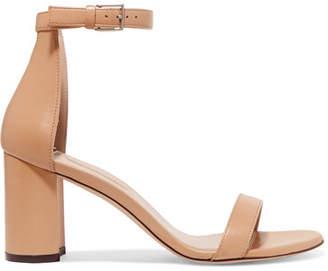 Stuart Weitzman Lessnudist Leather Sandals - Neutral