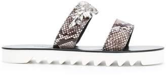Philipp Plein Katy embellished sandals