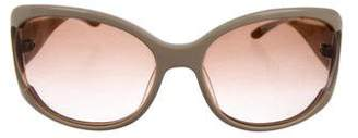 Miu Miu Oval Gradient Sunglasses