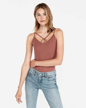Express Strappy V-Neck Best Loved Bra Cami