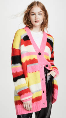 MSGM Striped Cardigan