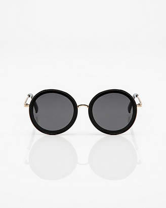f7906a93d5 Oversize Black Gold Sunglasses - ShopStyle Canada