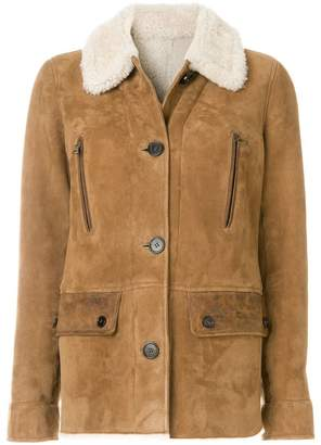 Yves Salomon Meteo shearling jacket