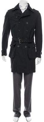 Dolce & Gabbana Knit Trench Coat