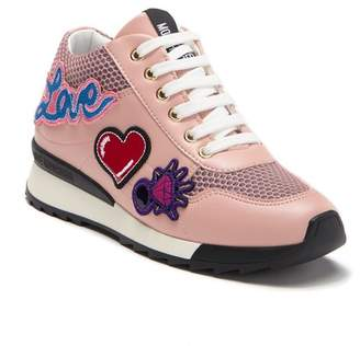 Love Moschino Patch Sneaker