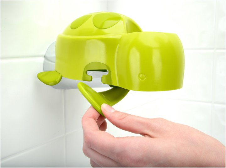 Brica Super Spout Cover with Rinse Cup - Green