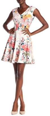 Taylor Floral Fit & Flare Dress