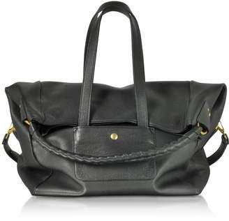 Jerome Dreyfuss Gaspard Black Leather Shoulder Bag