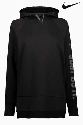Next Womens Nike Dry Black Training Cowl Neck Hoody
