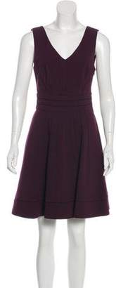 Diane von Furstenberg Georgette Sleeveless Dress