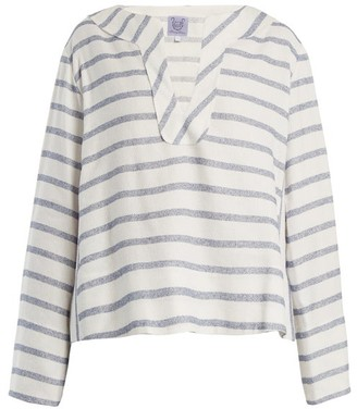Thierry Colson Biarritz Spunga Striped Top - Womens - Blue Stripe