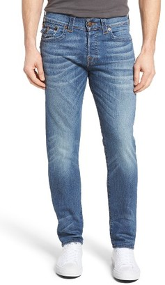 Men's True Religion Rocco Skinny Fit Jeans $199 thestylecure.com
